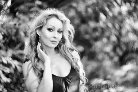 női portré művész fotó