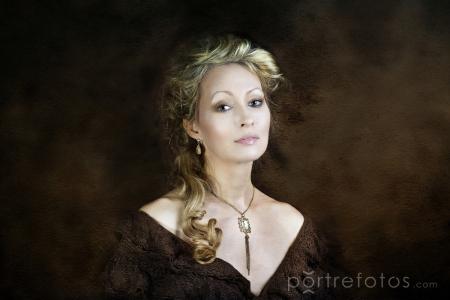 portréfotózás, női festmény portré, női portré, különleges portré