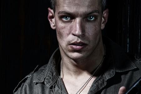 férfi modell portréfotózás